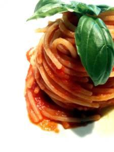 sèaghetti al pomodoro olio