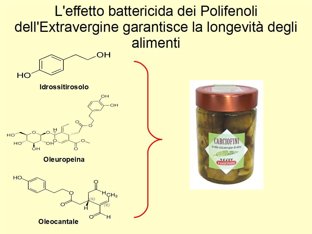 L'Extravergine è un potente antibatterico grazie ai suoi polifenoli