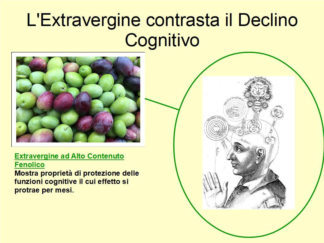 I benefici dell'Extravergine contro il Declino Cognitivo
