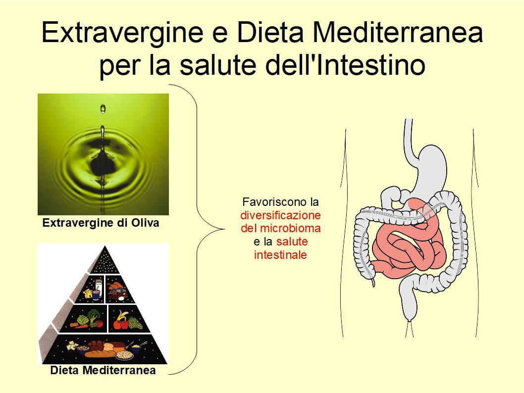 La Dieta Mediterranea ha un effetto positivo sul microbiota intestinale