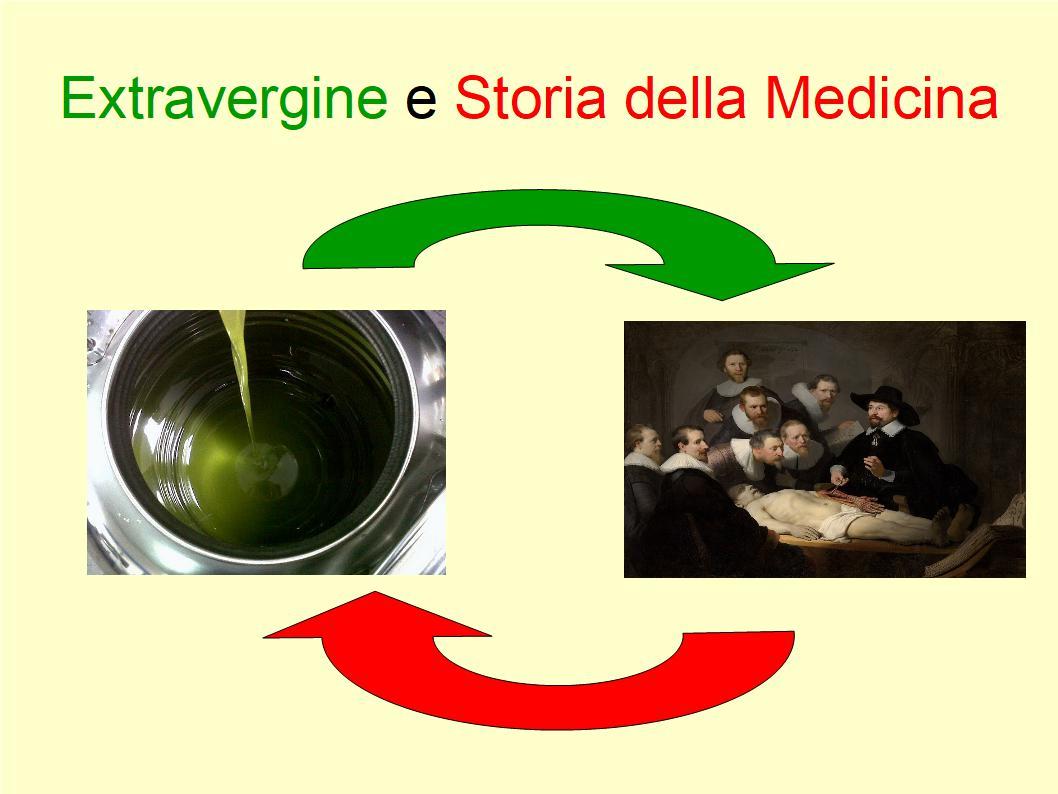 Il ruolo dell'Extravergine nella storia della scienza medica