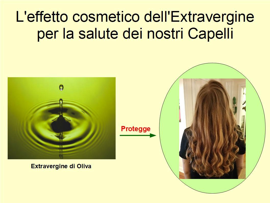 Extravergine di Oliva per la cura quotidiana dei capelli